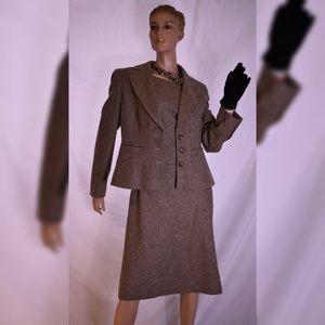 Ann Taylor wool blend blazer with dress size 10
